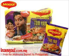 We export Maggi Tom Yam Instant Noodles to philippines. Visit-http://www.hanyaw.com.my/Products/Maggi_Noodles_Instant_Tom_Yam.html