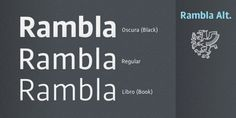 Rambla Alt™ font download