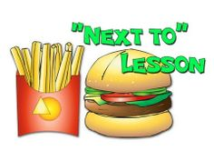"""""""Next to"""" - Teach Children with Autism and Learning Disabilities Speech Pathology, Speech Language Therapy, Speech And Language, Speech Therapy, Autism Learning, Learning Disabilities, Learning Resources, Kids English, Differentiated Instruction"""