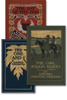 The American Publishers' Trade Bindings Digital Library presents over 1800 book covers which chronicle the development of book binding in the United States. The APTB project contains a variety of both fiction and non-fiction titles, primarily from the Charles M. Adams American Trade Binding Collection, published between the 1830s and the 1920s.