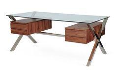 Large Beverly Desk, Walnut