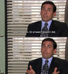 """When he ~maybe~ saw Inception: 25 Times Michael Scott Was The Best AND Worst Character On """"The Office"""" Office Memes, Office Quotes, Funny Office, Michael Scott, Cool Stuff, Funny Stuff, Funny Things, Random Stuff, Movies"""