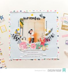 #papercrafting #scrapbook #layout - Remember Us by geekgalz at @studio_calico
