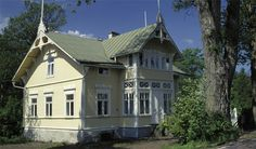 Yellow Finnish villa