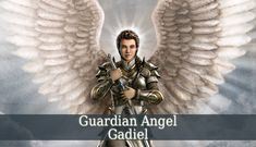 Guardian Angel Gadiel is one of the angels of prosperity. But he also protects you from the evil forces. This beautiful angel inspires you to stay positive.