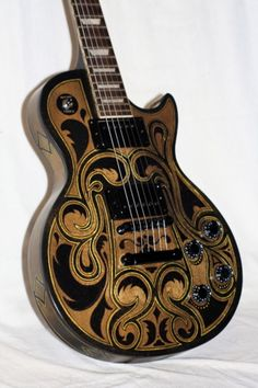 Les Paul Custom reworked by Eamon of Amen Design