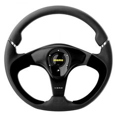 MOMO - Nero Series Steering Wheel, Leather with Suede