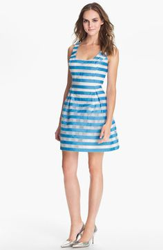 Lilly Pulitzer® 'Joslin' Stripe Fit & Flare Dress available at #Nordstrom