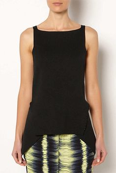 Witchery Knitted Peplum Tank