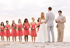 Captiva Island Beach Wedding from A Guy and a Girl Photography  Read more - http://www.stylemepretty.com/florida-weddings/2013/08/14/captiva-island-beach-wedding-from-a-guy-and-a-girl-photography/