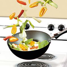 Wok: Joghurtos ropogós csirkemell Wok, Grilling, Crickets