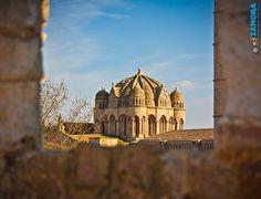 Cimborrio de la Catedral visto desde el Castillo (ZAMORA, Spain)    www.eszamora.com    y síguenos en FACEBOOK en www.facebook.com/esZAMORAcom