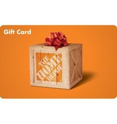 Gift Item | Home Depot *Canada Only*. Just right for that special HOME! $25 denomination. Send one to yourself and one to a friend, today! SOC ID 72492