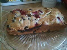 Cranberry Blueberry Bread