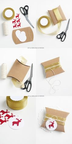 25Idea packaging natalizia ( Ghirlanda di Pop Corn)25
