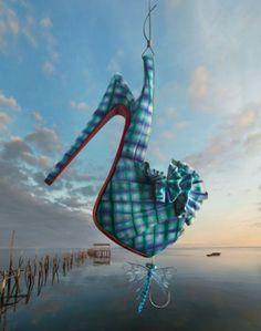 クリスチャン・ルブタン2013「釣り」がテーマ