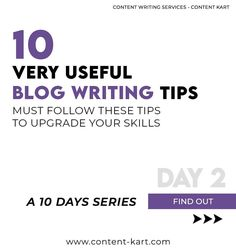 10 Blog Writing Tips - A 10 Days Series ✅6 Places to Use Keywords while Writing Web Pages or Blog Posts.  1. URL  The web address of the page.  2. Meta title tag  Text that appears as the page title in the web browser Depending on our website platform, we should add the title tag in the back end or header of site. Titles with 50-60 characters are best. Longer than that will be cut off by the browser. Shorter may not be descriptive enough to differentiate from other pages.  3. Meta… Blog Writing Tips, Web Address, Writing Services, Web Browser, 10 Days, Header, Platform, Characters, Posts
