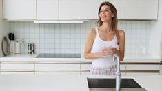 Trinkwasser ist unser wichtigstes Lebensmittel und zwar eines, das nicht viel Zubereitung braucht - Wasserhahn aufdrehen und genießen. Das einzige was dabei unerlässlich ist: Hygiene. Moderne Installationssysteme sorgen dafür, dass jeder Schluck direkt aus der Leitung oder die erfrischende Dusche ein gesunder Genuss bleiben. Wir beraten Sie gerne. Modern, Basic Tank Top, Tank Tops, Vogl, Fashion, Drinking Water, Home Technology, Water Tap, Foods