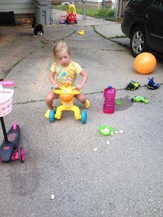 Giraffes ruin push bikes. (Thanks, @TheLizLincoln!)