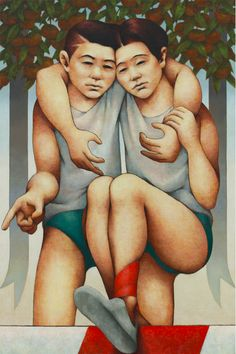 "www.shinhanart.com 2019 ShinHanArt Thinkartkorea painting exhibition ""Ambiguous air"" by Choi Byung Jin  #ShinHanArt #ShinHanAcryliccolor #acrylic #acrylicpaint #acrylicpainting #art #artwork #painting #paint #artexhibition #exhibition #figurativepainting #figurativeart Acrylic Colors, Paint Colors, Figure Painting, Figurative Art, Jin, Artwork, Paint Colours, Work Of Art, Auguste Rodin Artwork"