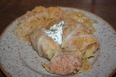 zväčšiť - Plnená kapusta v kotlíku Cabbage, Pork, Chicken, Meat, Vegetables, Kale Stir Fry, Cabbages, Vegetable Recipes, Pork Chops