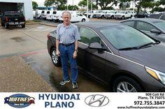 https://flic.kr/p/JeShAX | Happy Anniversary to John on your #Hyundai #Sonata from Frank White at Huffines Hyundai Plano! | deliverymaxx.com/DealerReviews.aspx?DealerCode=H057