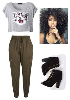 """Bez naslova #16"" by semysemy ❤ liked on Polyvore featuring City Chic and plus size clothing"