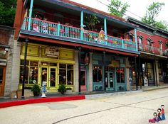 Colorful Shops in Eureka Springs, Arkansas by iatraveler, via Flickr