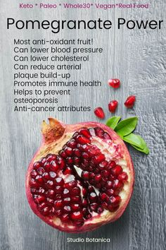 Hot pomegranate apple cider Pomegranate Power ~ Benefits + Recipes You Need To Try! Pomegranate Power ~ Benefits + Recipes You Need To Try! Diet And Nutrition, Nutrition Guide, Pomegranate Benefits, Healthy Tips, Healthy Recipes, Healthy Snacks, Best Fat Burning Foods, Grenade, Real Food Recipes