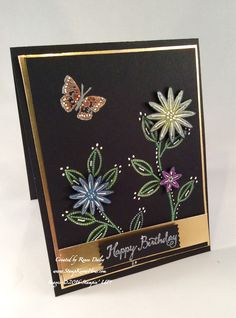 CAS(E) this sketch 156 demonstrates the black magic technique  #GratefulBunch #StampinUP  #Birthday #Stampknowhow