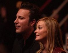 John Corbett and Bo Derek sitting in the audience at the Big in 2002 Awards John Corbett, Bo Derek, Beautiful Blue Eyes, People Of Interest, Paul Newman, Celebrity Couples, In Hollywood, Stock Pictures, Picture Photo