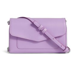 Vera Bradley Ultimate Crossbody in Lilac ($98) ❤ liked on Polyvore featuring bags, lilac, vera bradley, strap bag, purple crossbody bag, purple bag and purple cross body bag