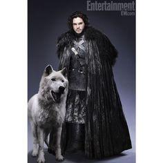 Direwolves- Ghost - Game Of Thrones - Direwolves Photo (29810678) -... via Polyvore