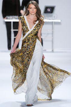 Carlos Miele fall 2012 New York fashion week. V