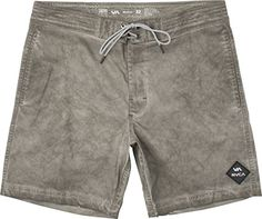 RVCA Men's Wanderer 17 Inch Trunk Boardshort, Pirate Black, 34 * This is an Amazon Associate's Pin. Locate the item on Amazon website simply by clicking the image.