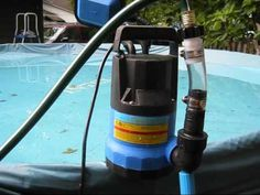 Portable Swimming Pool Heater - Are you considering placing a swimming pool right in your backyard? There is A pool a fun Portable Swimming Pools, Swimming Pool Heaters, Diy Pool Heater, Pool Warmer, Cheap Pool, Pool Hacks, Stock Tank Pool, Intex Pool, My Pool