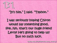 i think rick riorden likes the name leroy... it was used in kane chronicles too for the set monster