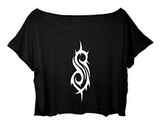 Women's Crop Top Slipknot Shirt Concert Slipknot outfits summer
