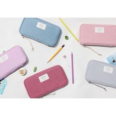 Donbook Wish blossom mind zip around pencil pouch - fallindesign