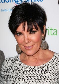 kris jenner hairstyles | Pics of Kris Jenner Dangling Diamond Earrings (14 of 24) - Kris Jenner ...