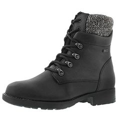 Best Boots For Women | Cougar Womens Derry Waterproof Fold Down Winter Boot Black 9 M US * You can get additional details at the image link.(It is Amazon affiliate link) #funny