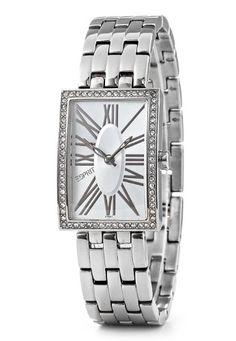 Esprit Splendid Roman ES101742001 - Reloj de mujer de cuarzo, correa de acero inoxidable color plata: Amazon.es: Relojes