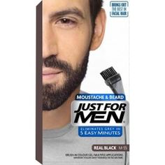 just for men beard | UK Products | Pinterest | Hair color dark ...