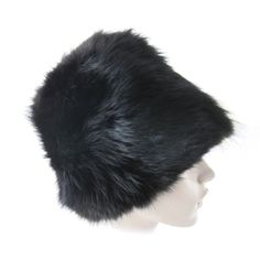 1960s Black Mink Hat Cloche -Joseph Magnin | From a collection of rare vintage hats at http://www.1stdibs.com/fashion/accessories/hats/