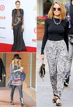 boho chic fashion photos | Nicole Richie's Boho-Chic Style