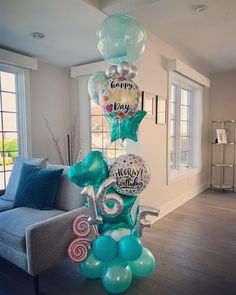 Balloon Bouquet Delivery, Balloon Delivery, Birthday Balloon Decorations, Birthday Balloons, 12th Birthday, Happy Birthday, Baby Cinderella, Backyard Birthday, Balloons And More