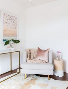 adorable little living room setting