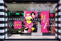 Illustrations and packaging for Sephora Mother's Day Campaign by Andreea Robescu Shop Window Displays, Store Displays, Pop Display, Good Day Song, Best Homemade Dog Food, Christmas Store, Illustrations, Visual Merchandising, Arcade