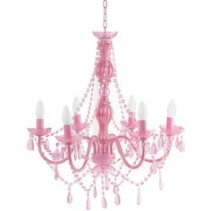 Silly Lamp Chandelier Gypsy Large - Pink (34 KWD) ❤ liked on Polyvore featuring home, lighting, ceiling lights, decor, chandelier, home decor, lamps, pink lamp, pink flamingo lights and pink lights