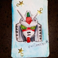 Here's a miniature #Gundam head I painted 😂 Can you believe I used to watch so many Gundam series, but I've never really drawn one before?? Well, as a salute to the original #mobilesuitgundam here's #RX78  Out of all the Gundams from the different shows, I'd say DeathScythe Hell (Gundam Wing Endless Waltz) is my favorite.. What's your fav Gundam? 🤖 *-*-*-*-*-*-*-*-*-*-*-*-* #mobilesuits #originalgundam #amuro #amuroray #anime #manga #mecca #mecha #robot (not really) #retroanime #otaku…